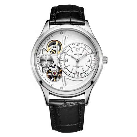 Pánské mechanické hodinky Mirable bílé WEIDE