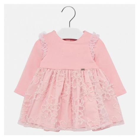 Dívčí šaty Mayoral 2906   růžová