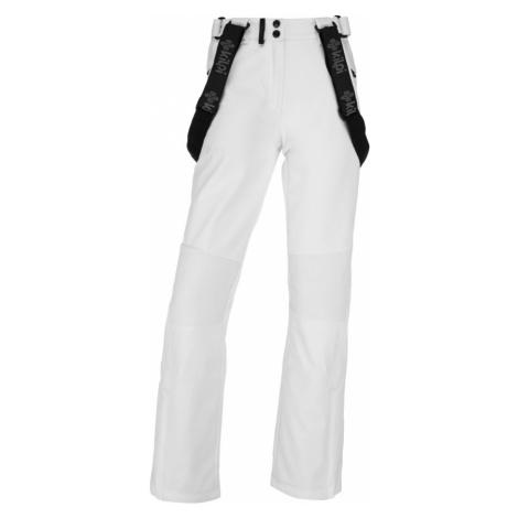 KILPI Dámské softshellové kalhoty - větší velikosti DIONE-W JLX013KIWHT Bílá
