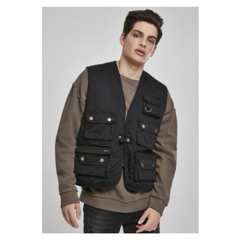 Worker Vest - black Urban Classics