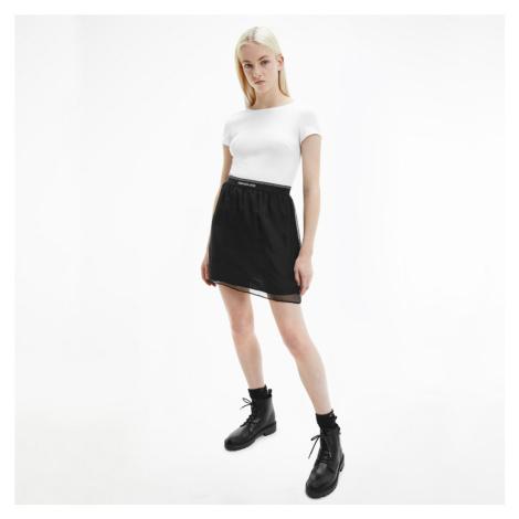 Calvin Klein dámské černobílé šaty