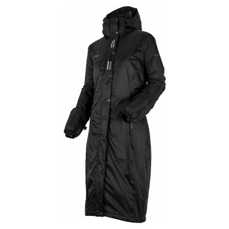 Kabát jezdecký nepromokavý Regular Sport UHIP, dámský, černý