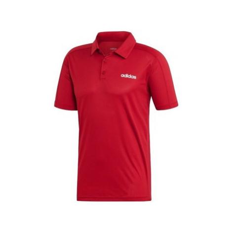 Adidas D2M Climacool Polo Červená