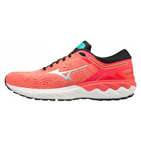 Dámské běžecké boty Mizuno Wave Skyrise oranžové