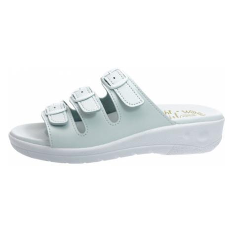 Pantofle Šmíd 3 pásky bílá EU 42