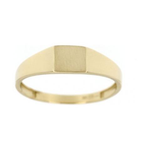 Zlatý pánský pečetní prsten 4454