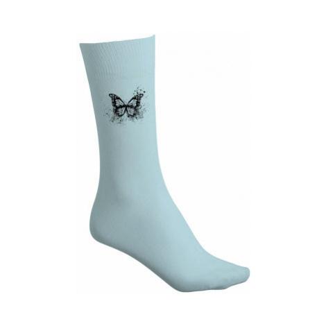 Bavlněné ponožky Motýl grunge