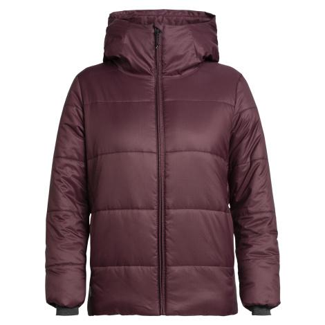 ICEBREAKER Wmns Collingwood Hooded Jacket, VELVET Icebreaker Merino