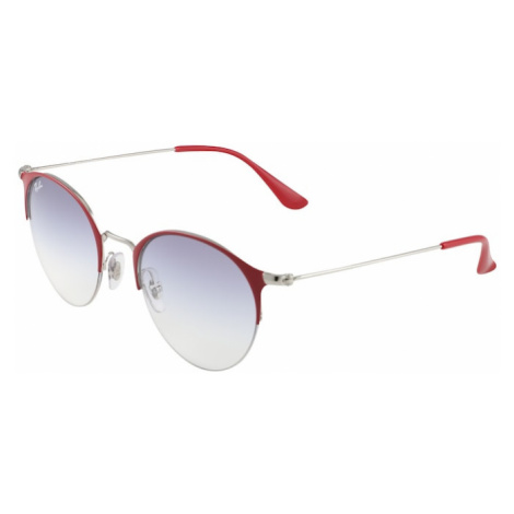 Ray-Ban Sluneční brýle kouřově modrá / bordó
