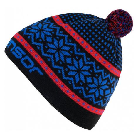 NORWAY Zimní čepice 17200096 černá UNI Sensor
