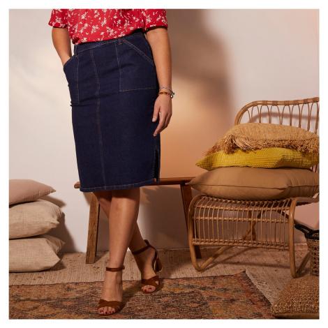 Blancheporte Džínová sukně modrá