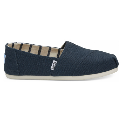 CLASSIC-Majolica Blue Heritage Canvas Toms