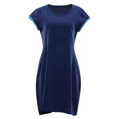 Dámské šaty Alpine Pro OFKA 2 - tmavě modrá