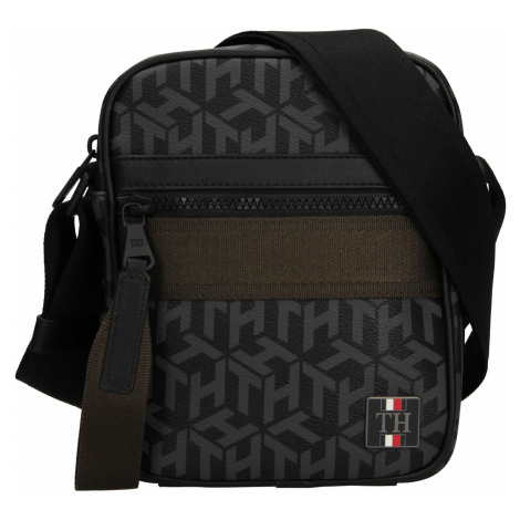Pánská taška přes rameno Tommy Hilfiger Karl - zeleno-černá