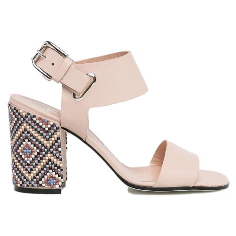 Růžové sandály - POLLINI