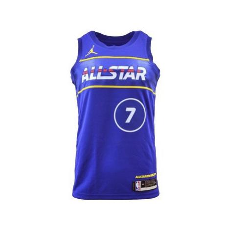 Nike Air Jordan Swingman Jersey Allstar 2021 Kevin Durant Modrá
