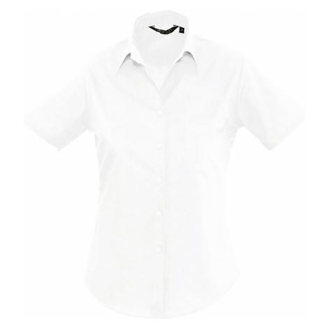 SOĽS Dámská košile ESCAPE 16070102 Bílá SOL'S