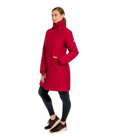 Kabát Long Line Horseware, 100% recyklovaný, dámský, rio red