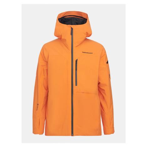Bunda Peak Performance M Alpine 2L Jacket - Oranžová