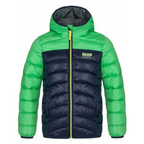 LOAP INBELO Dětská zimní bunda CLK2050P04M Cl Green / Blue