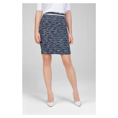 Tvídová sukně s opaskem Orsay