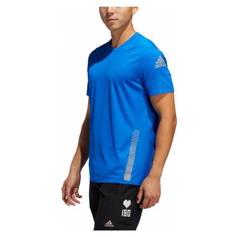 Pánské tričko adidas 25/7 Rise Up N Run Parley modré