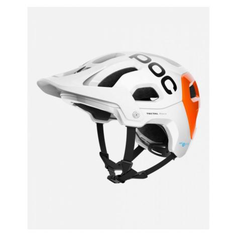 Helma POC Tectal Race SPIN NFC hydrogen white/fluorescent orange AVIP