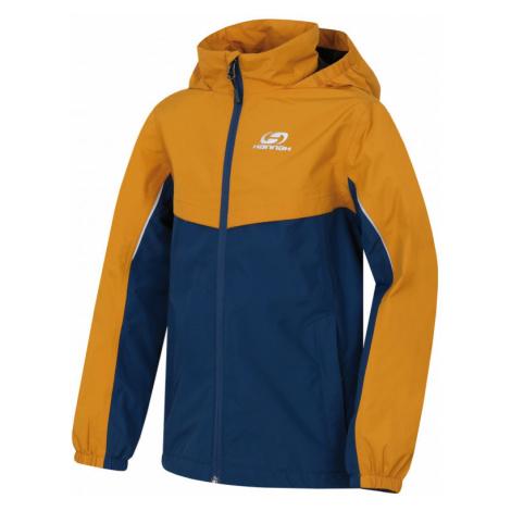 Dětská bunda Hannah Brons JR golden yellow/moroccan blue