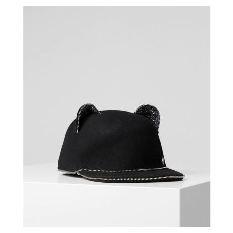 Čepice Karl Lagerfeld Choupette Ears Zip Cap - Černá