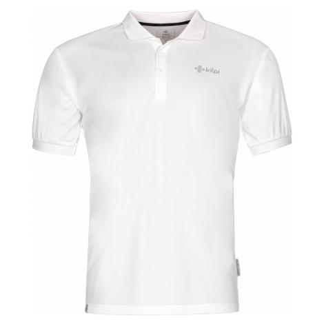 KILPI Pánské funkční polo tričko COLLAR-M MM0020KIWHT Bílá