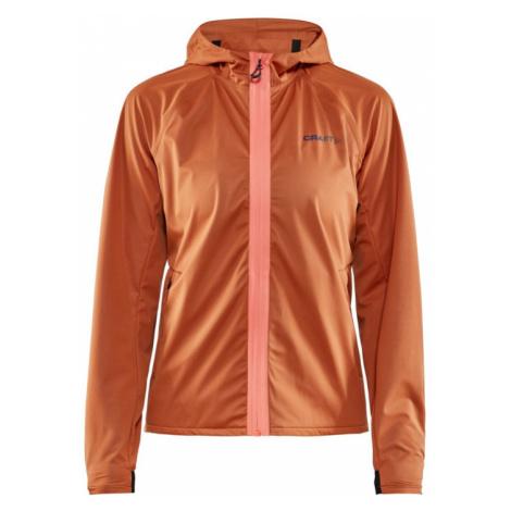 Dámská bunda CRAFT Hydro oranžová