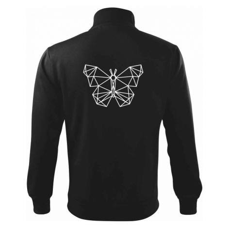 Geometrie - motýl - Mikina bez kapuce Adventure