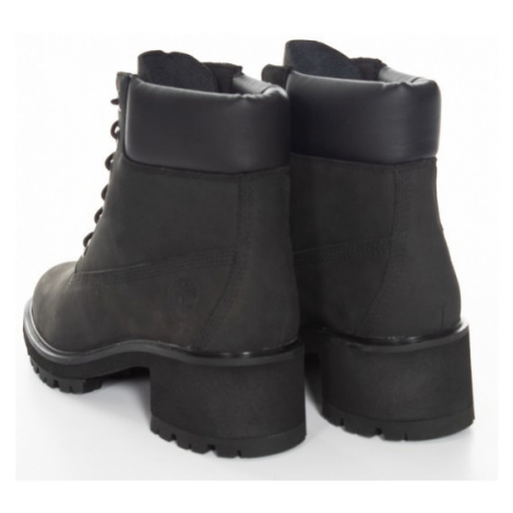 Timberland Timberland dámské kožené šněrovací boty černé