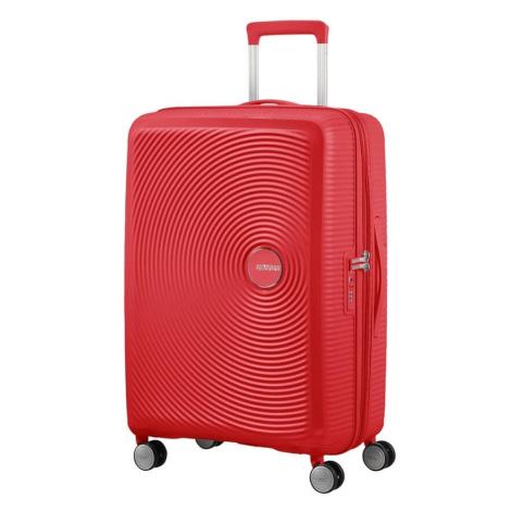 American Tourister Cestovní kufr Soundbox Spinner EXP 32G 71,5/81 l - červená