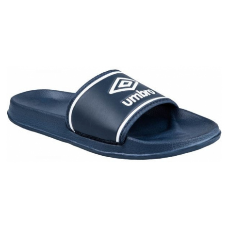 Umbro SHOWER SLIDE tmavě modrá - Pantofle