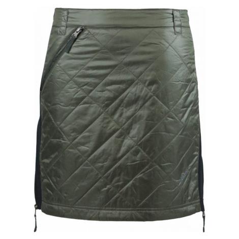 Zimní zateplená sukně Skhoop Rita Short olive