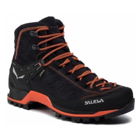 Salewa boty MS MTN Trainer MID GTX, černá/oranžová