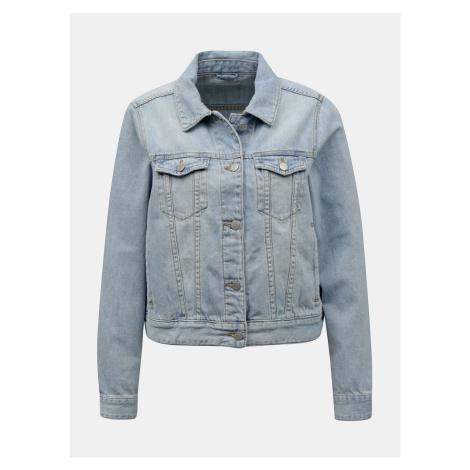 Vila světle modrá džínová bunda Rosabell