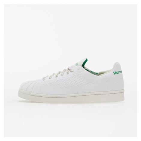 adidas x Pharrell Williams Superstar Primeknit Core White/ Core White/ Vivid Green