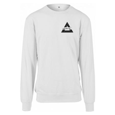 Mister Tee Triangle Crewneck - white Urban Classics