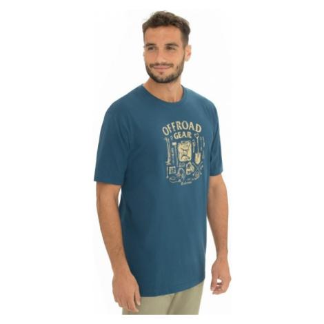 Pánské tričko BUSHMAN SIMSodrá