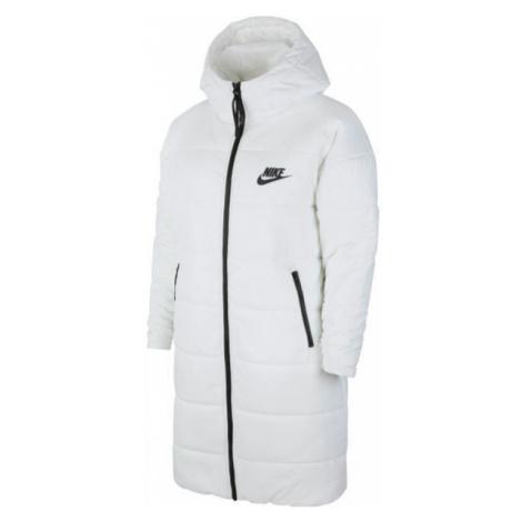 Nike NSW CORE SYN PARKA W bílá - Dámská parka