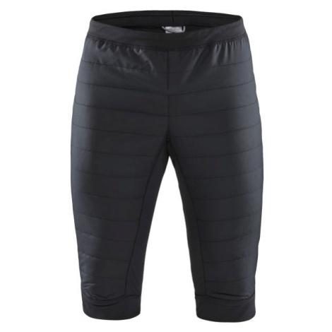 Craft SHORTS STORM THERMAL černá - Pánské zateplené šortky