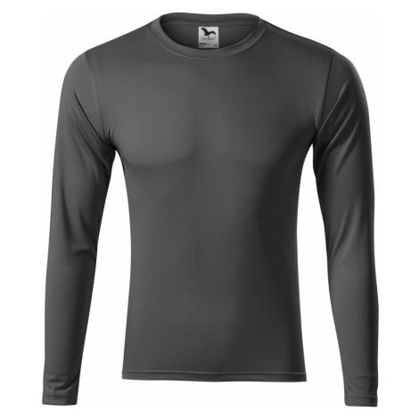 Malfini Pride Uni sportovní triko s dlouhým rukávem 16836 ocelová šedá