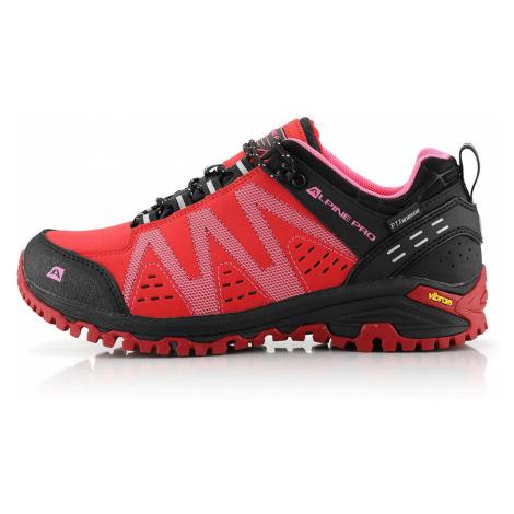 ALPINE PRO CHEFORNAK 2 Unisex outdoorová obuv UBTT242810 růžová