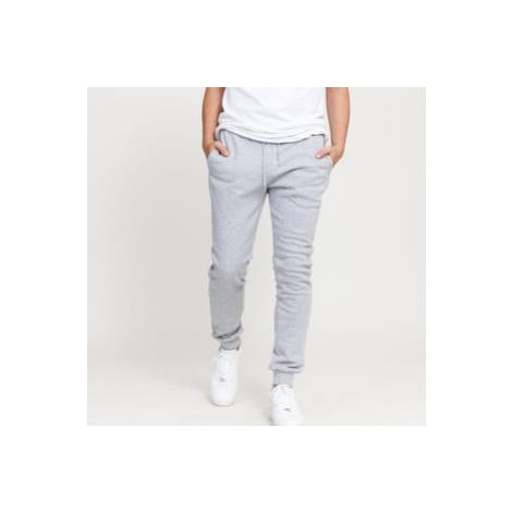 Urban Classics Organic Basic Sweatpants melange šedé