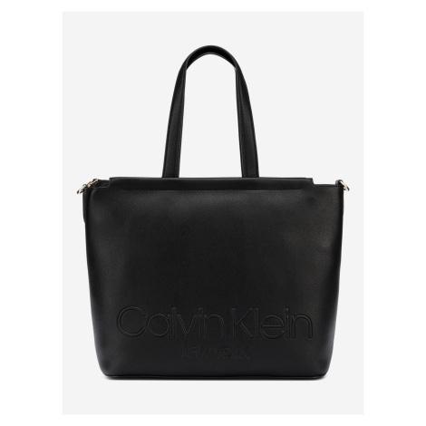 Marrone Shopper Taška Calvin Klein Černá