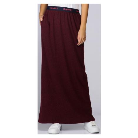 Dlouhá sukně s gumou v pase Superdry