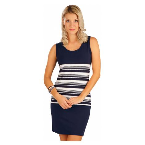 LITEX Šaty dámské bez rukávu 5B074514 tmavě modrá