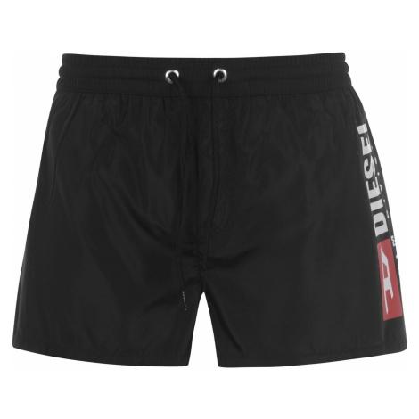Diesel Mens Logo Swim Shorts